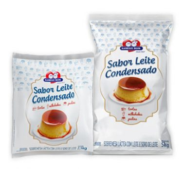 Sweet Condensed Milk Bags