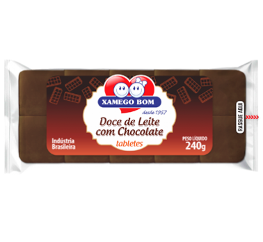 Dulce de Leche Bar with Chocolate