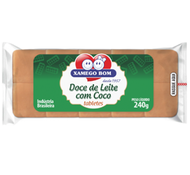 Dulce de Leche Bar with Coconut