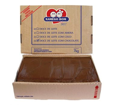 Dulce de Leche with Chocolate in Box