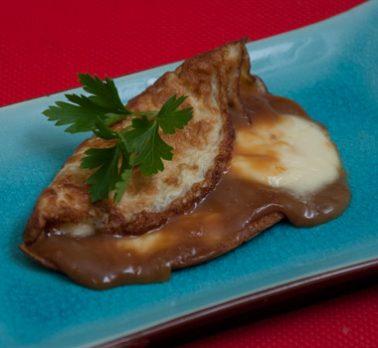Omelette com Doce de Leite