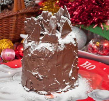 Panetone de Chocolate Brigadeiro