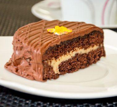 Pão de Mel de Chocolate com Leite Condensado