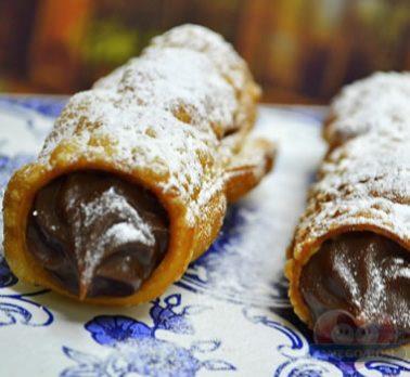Cannoli de Chocolate