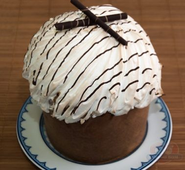 Chocotone de Marshmallow com Chocolate com Coco