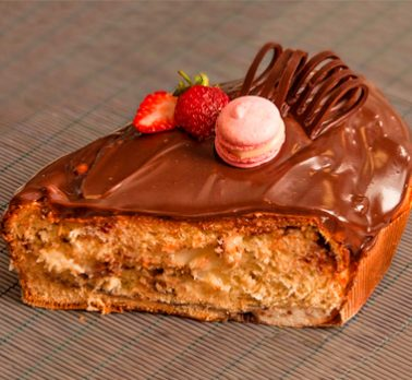 Colomba Leite Condensado e Chocolate