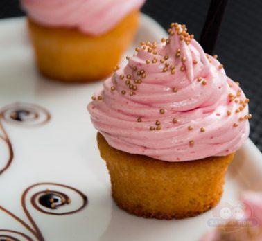 Cupcake de Goiaba