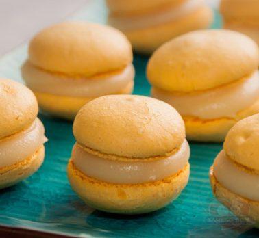 Macarons com Leite Condensado