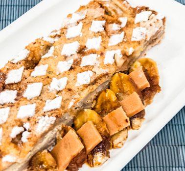 Torta de Bananas Austríaca