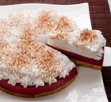 Torta Mousse de Frutas Vermelhas