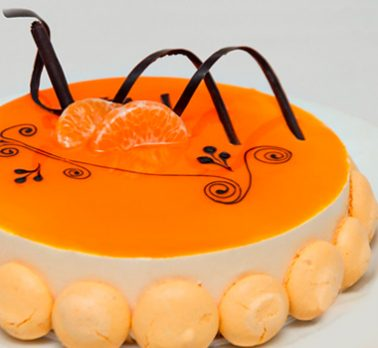 Torta Mousse de Tangerina
