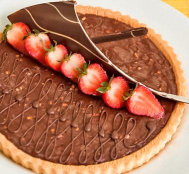 Torta Trufada de Avelã