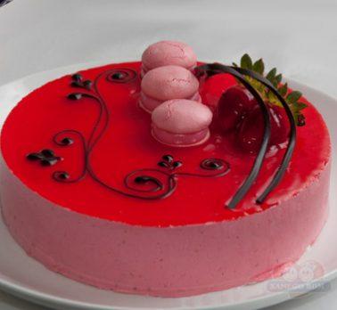 Torta Trufada de Frutas Vermelhas