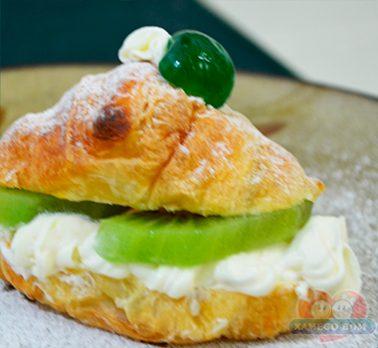 Croissant de Confeitare Leite Condensado e Kiwi