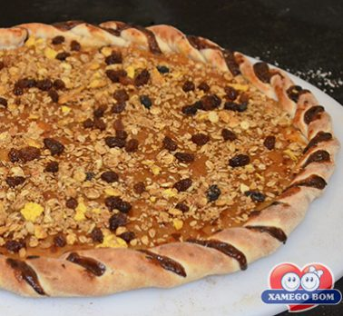 Pizza de Granola