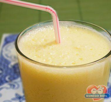 Suco de Manga com Iogurte