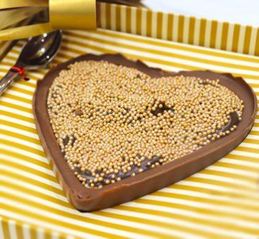 Coração de Chocolate e Brigadeiro
