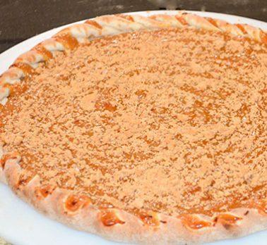 Pizza de Doce de Leite com Paçoquinha