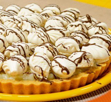 Torta Merengue de Coco Cremoso