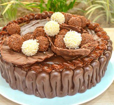 Torta de Confeitare Chocolate e Café