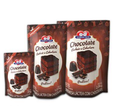 Chocolate Rellenos Y Coberturas