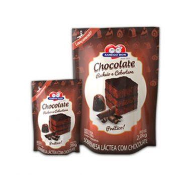 Recheio e Cobertura de Chocolate – Pouch