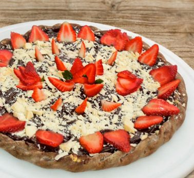 Pizza de Chocolate Intenso