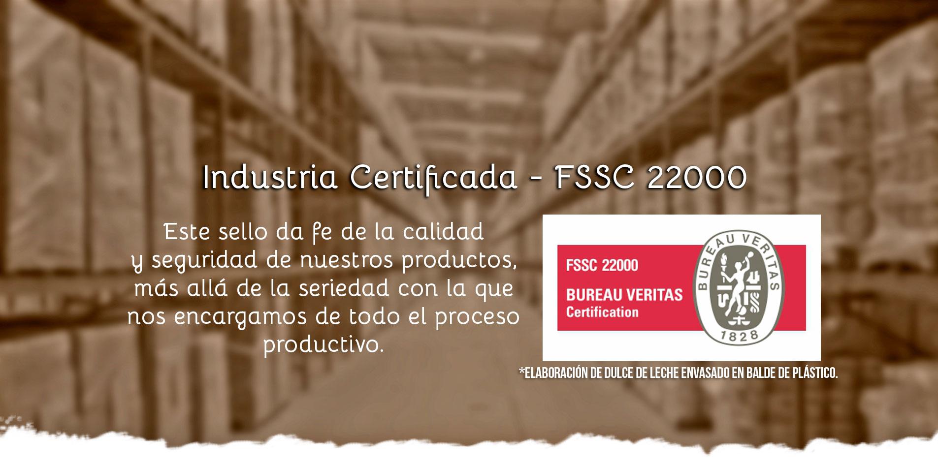 Selo FSSC 22000