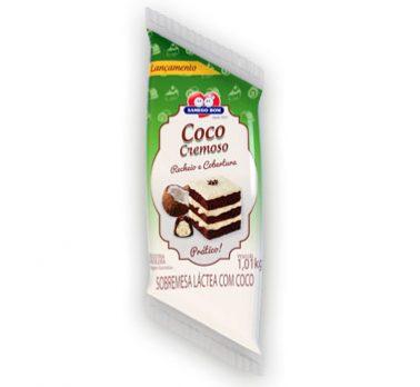 Recheio e Cobertura de Coco Cremoso