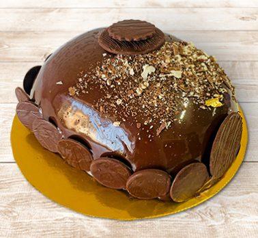 Bolo Ovo de Páscoa Chocolate