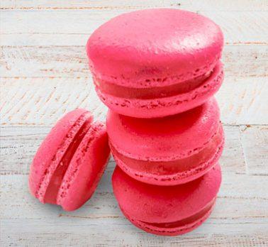 Macarons de Brigadeiro Sabor Morango